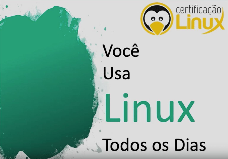 Você usa linux todos os dias