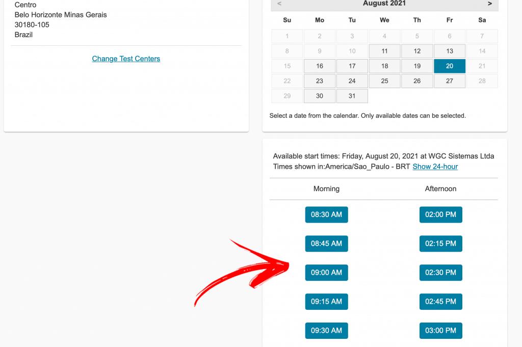 lpi-29-escolha-de-horario-1024x681 Como Marcar sua Prova na LPI com Desconto