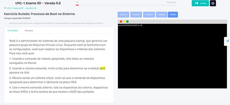 linux_exercicios Curso de Linux LPIC-1